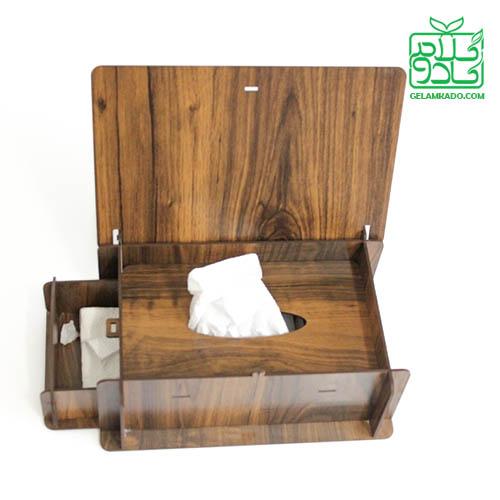 جعبه دستمال کاغذی در دار